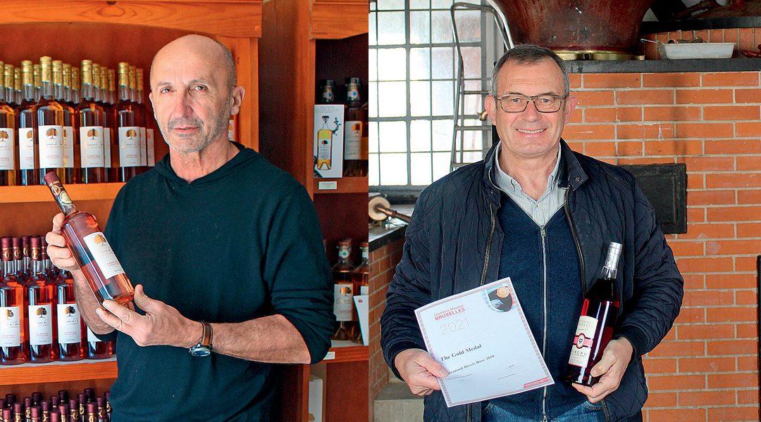 Deux médailles d'or pour le pineau rosé au Concours mondial de Bruxelles 2021