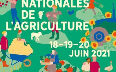 JOURNÉES NATIONALES DE L'AGRICULTURE LES 18-19-20 JUIN 2021