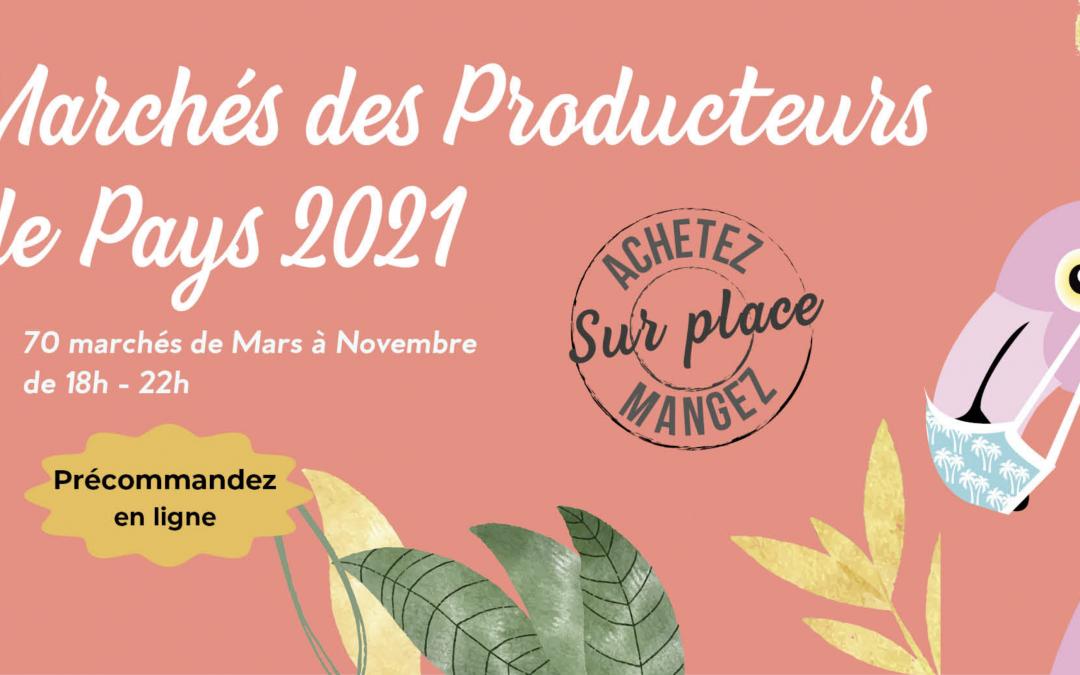 LES MARCHÉS DE PRODUCTEURS DE PAYS DE CHARENTE, D'AOÛT À NOVEMBRE
